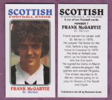 St Mirren Frank McGarvey Scotland